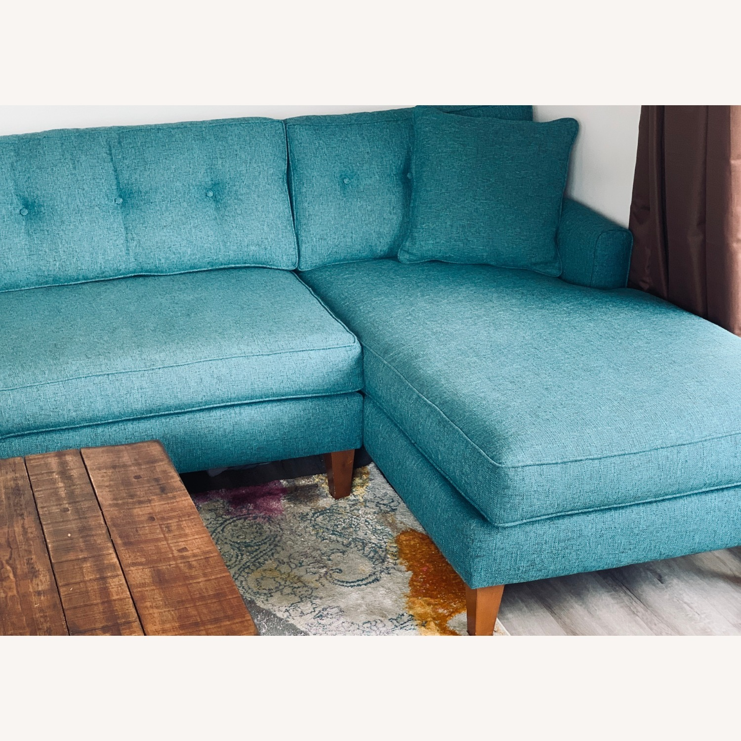 Trendy 2-Piece Sectional Sofa - image-5