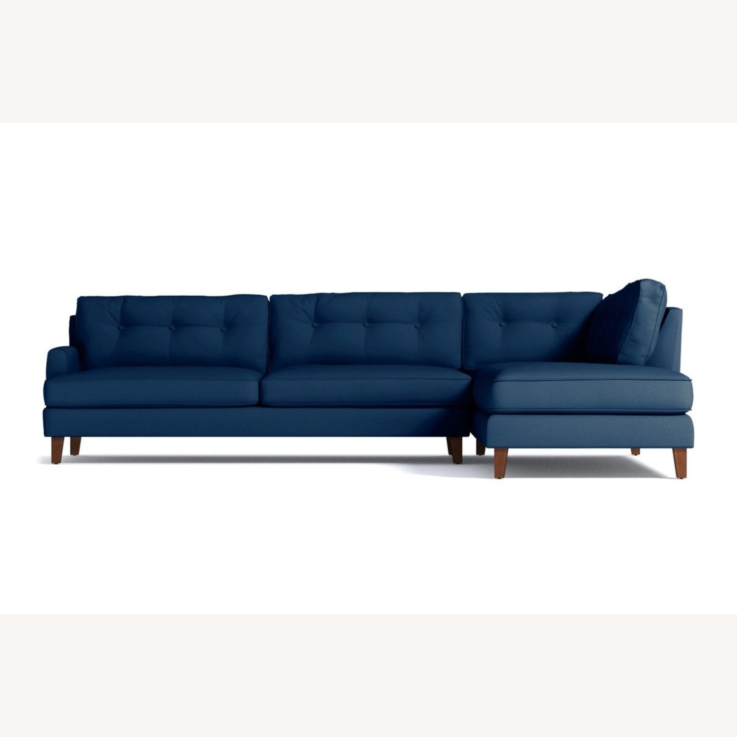 Trendy 2-Piece Sectional Sofa - image-1