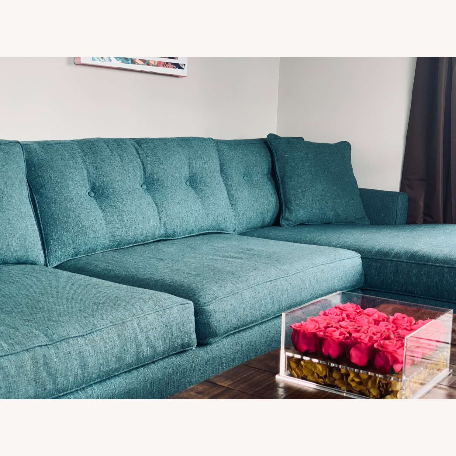 Trendy 2-Piece Sectional Sofa - image-2