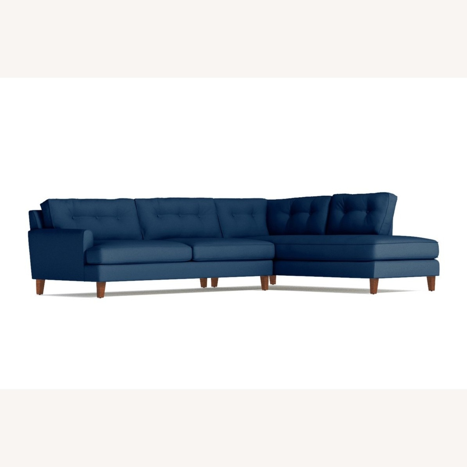 Trendy 2-Piece Sectional Sofa - image-4