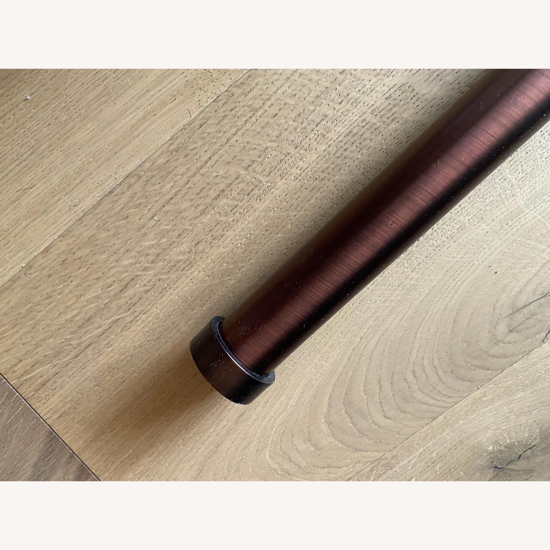 Crate & Barrel Curtain Rod - image-1