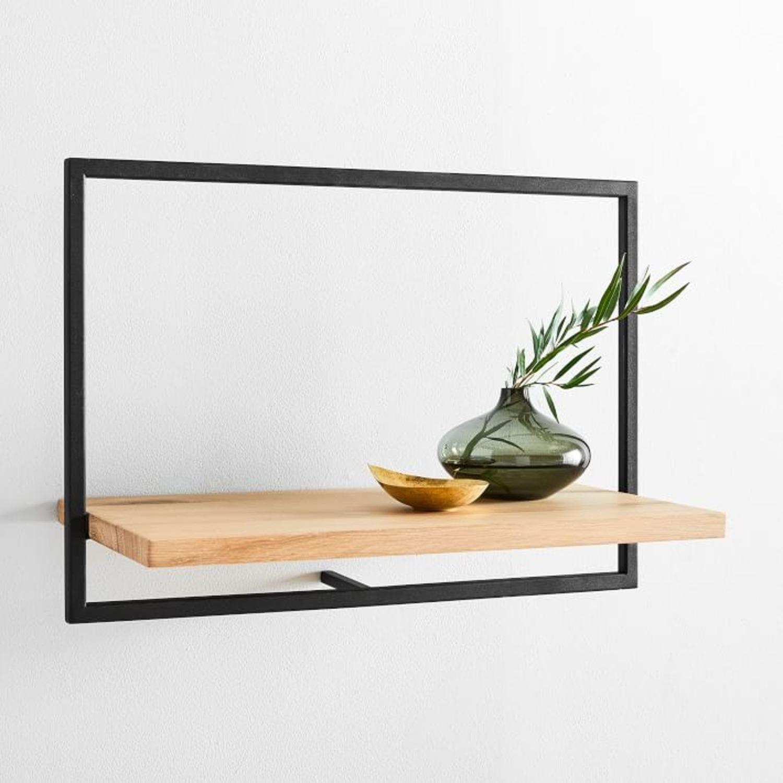 West Elm Shelfmate Short Horizontal Wall Shelf - image-3