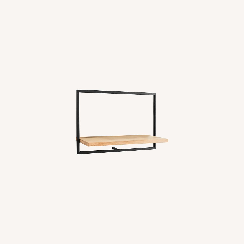West Elm Shelfmate Short Horizontal Wall Shelf - image-0