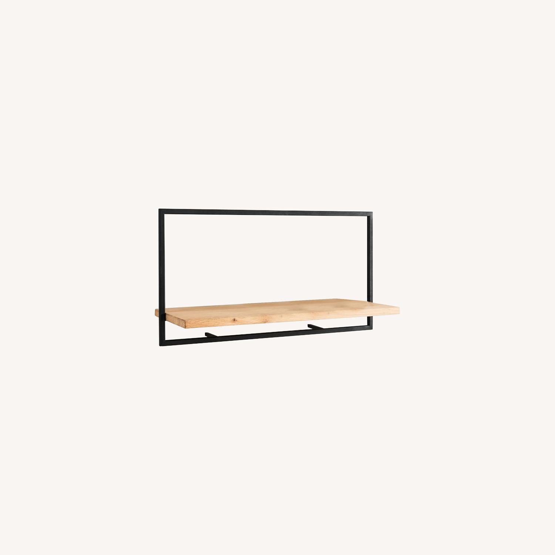 West Elm Shelfmate Long Horizontal Wall Shelf - image-0