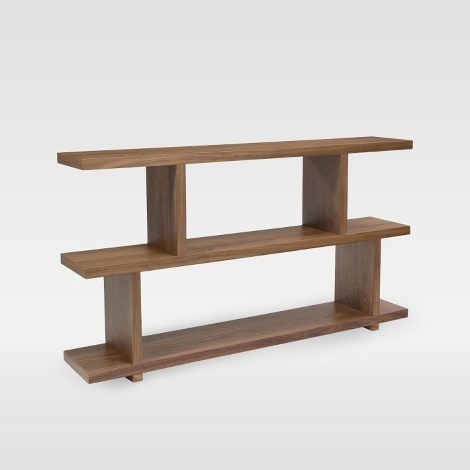 West Elm Modern Staggered Shelf, Small - image-1