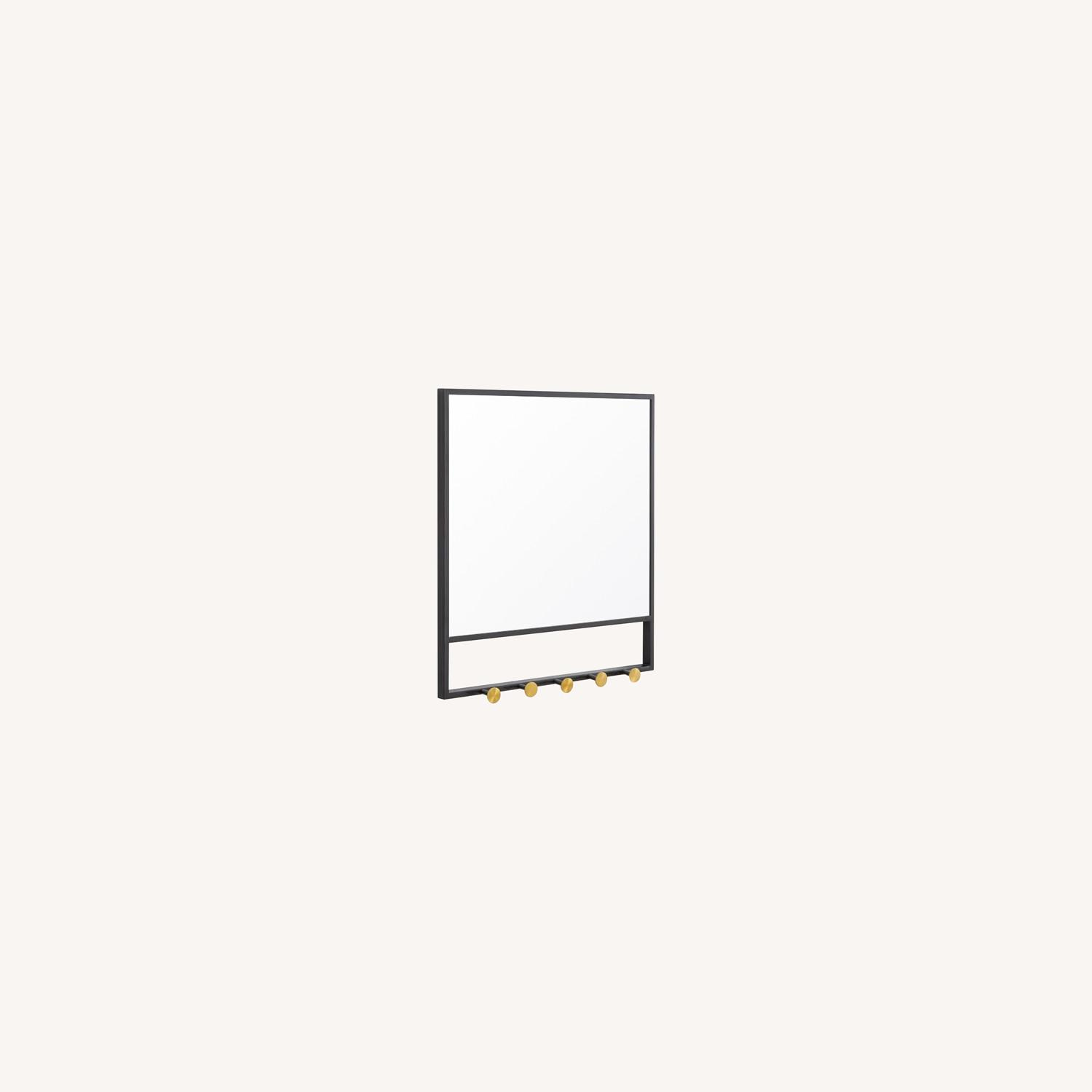 West Elm Floating Lines Wall Mirror - image-0