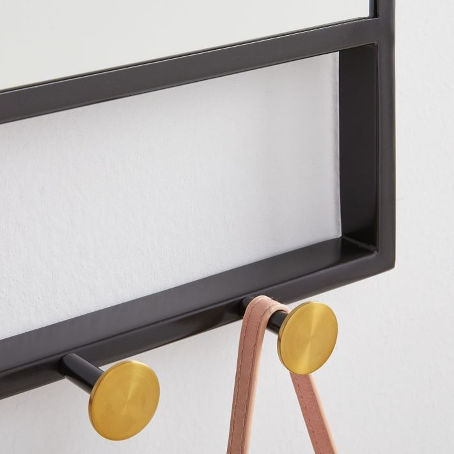 West Elm Floating Lines Wall Mirror - image-2