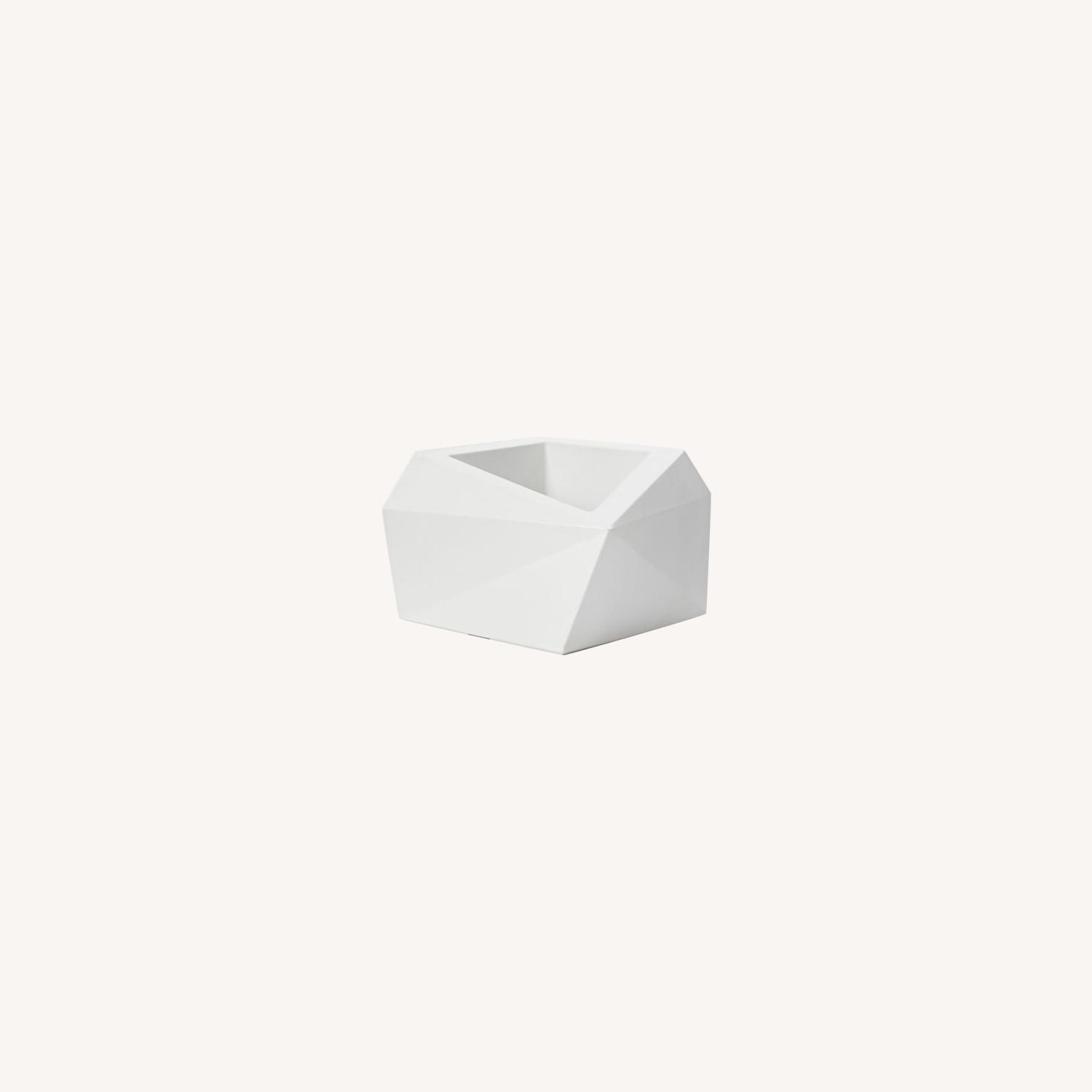 West Elm Origami Planter - image-0