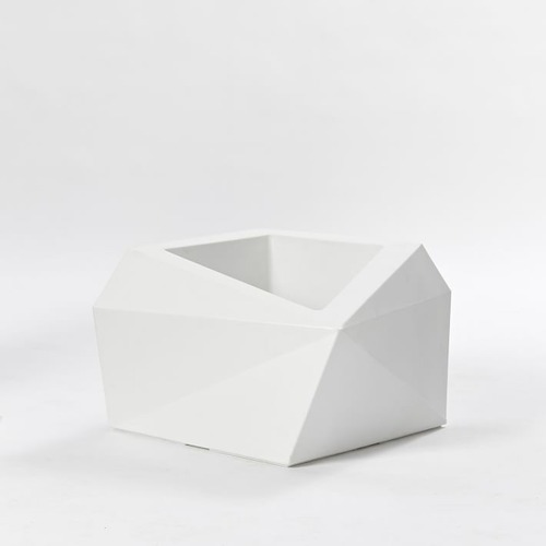 Used West Elm Origami Planter for sale on AptDeco