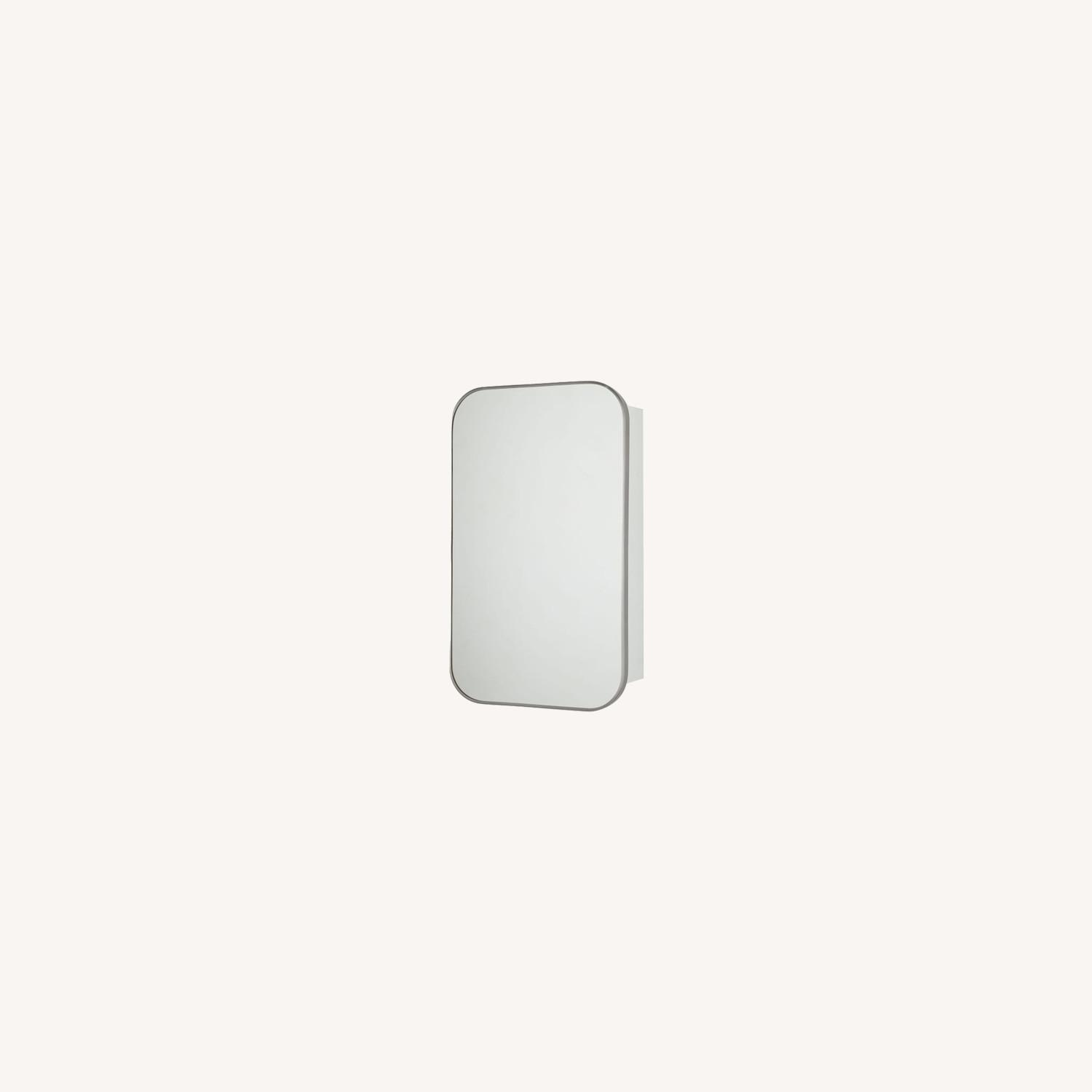 West Elm Seamless Medicine Cabinets, Chrome - image-0