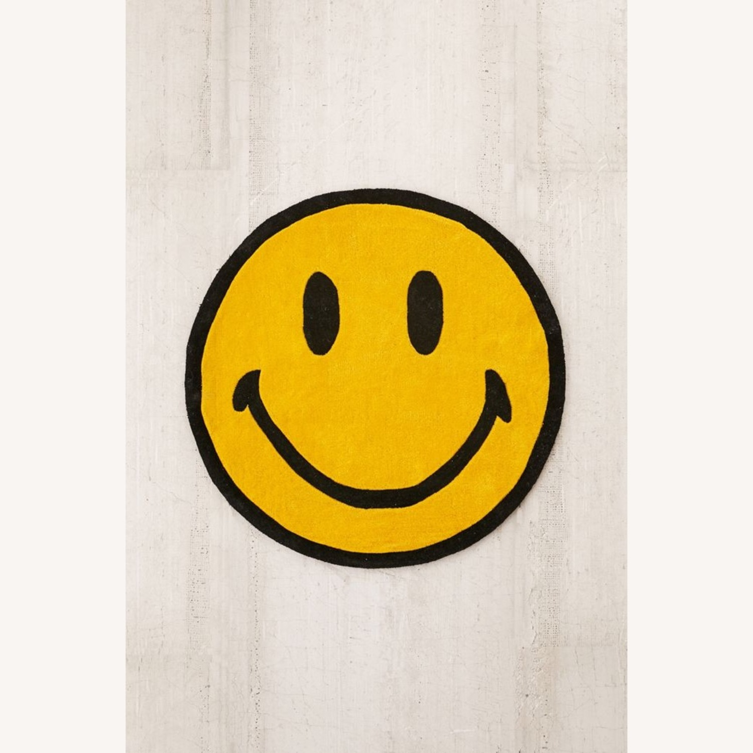 Urban Outfitters Smiley Plush Rug - image-1