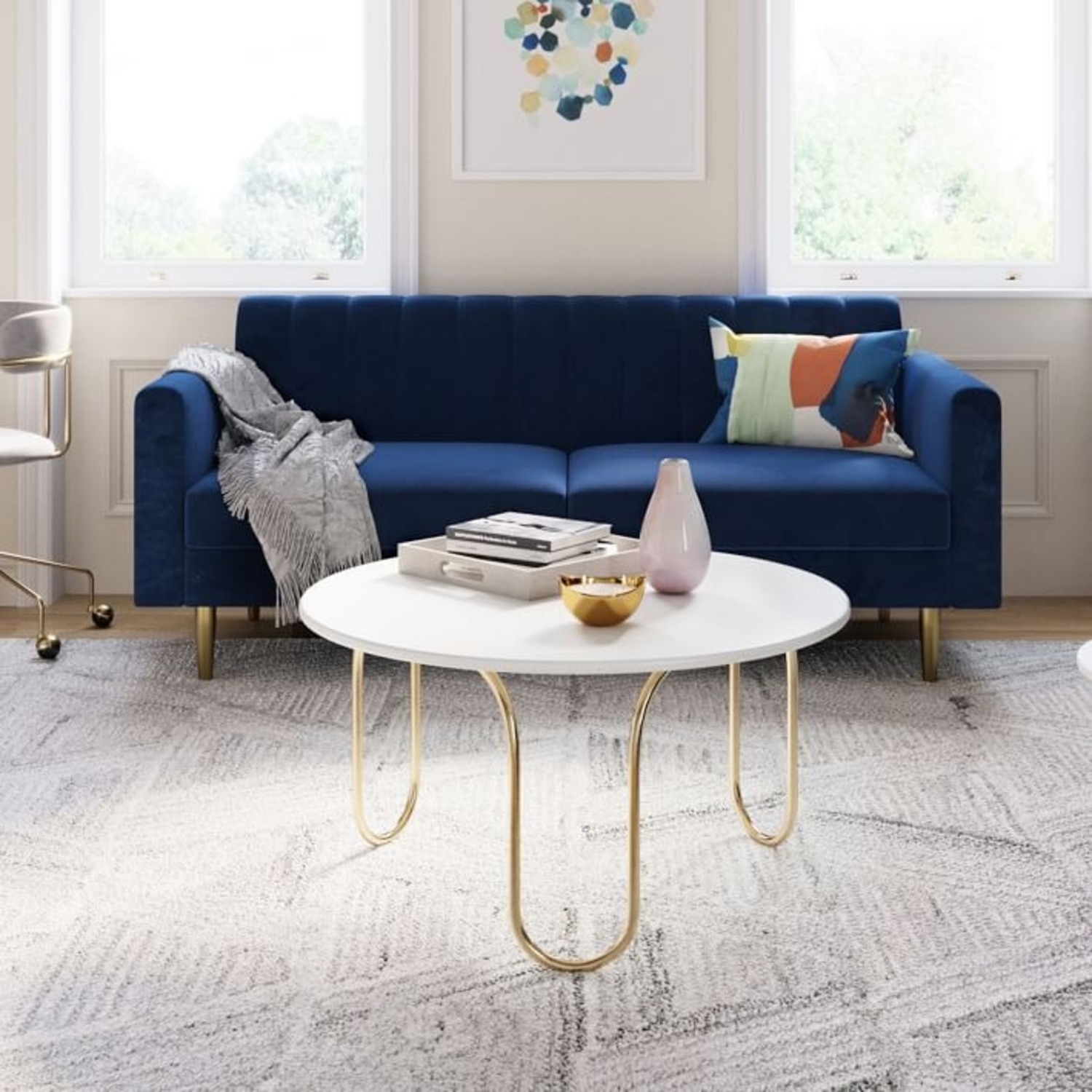 West Elm Cecile Coffee Table - image-3