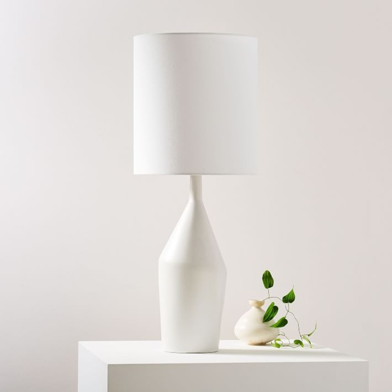 West Elm Asymmetry Ceramic Table Lamp - image-3