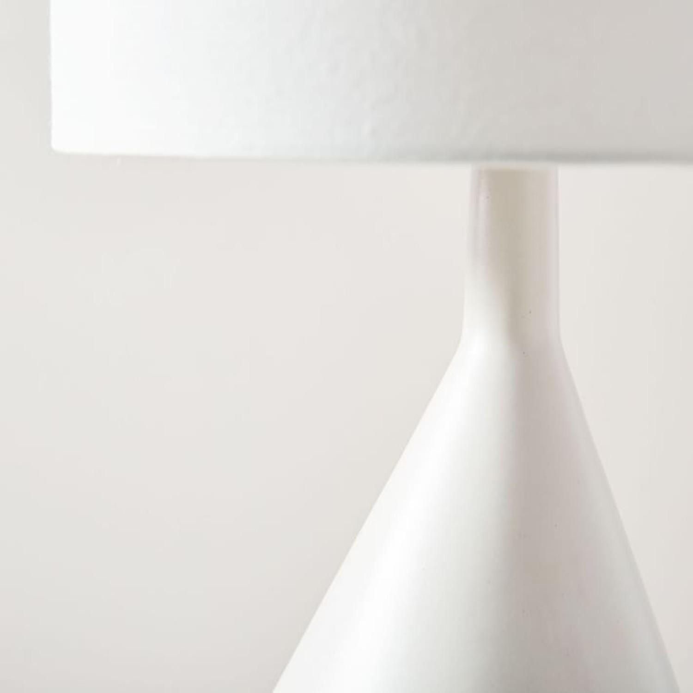 West Elm Asymmetry Ceramic Table Lamp - image-2