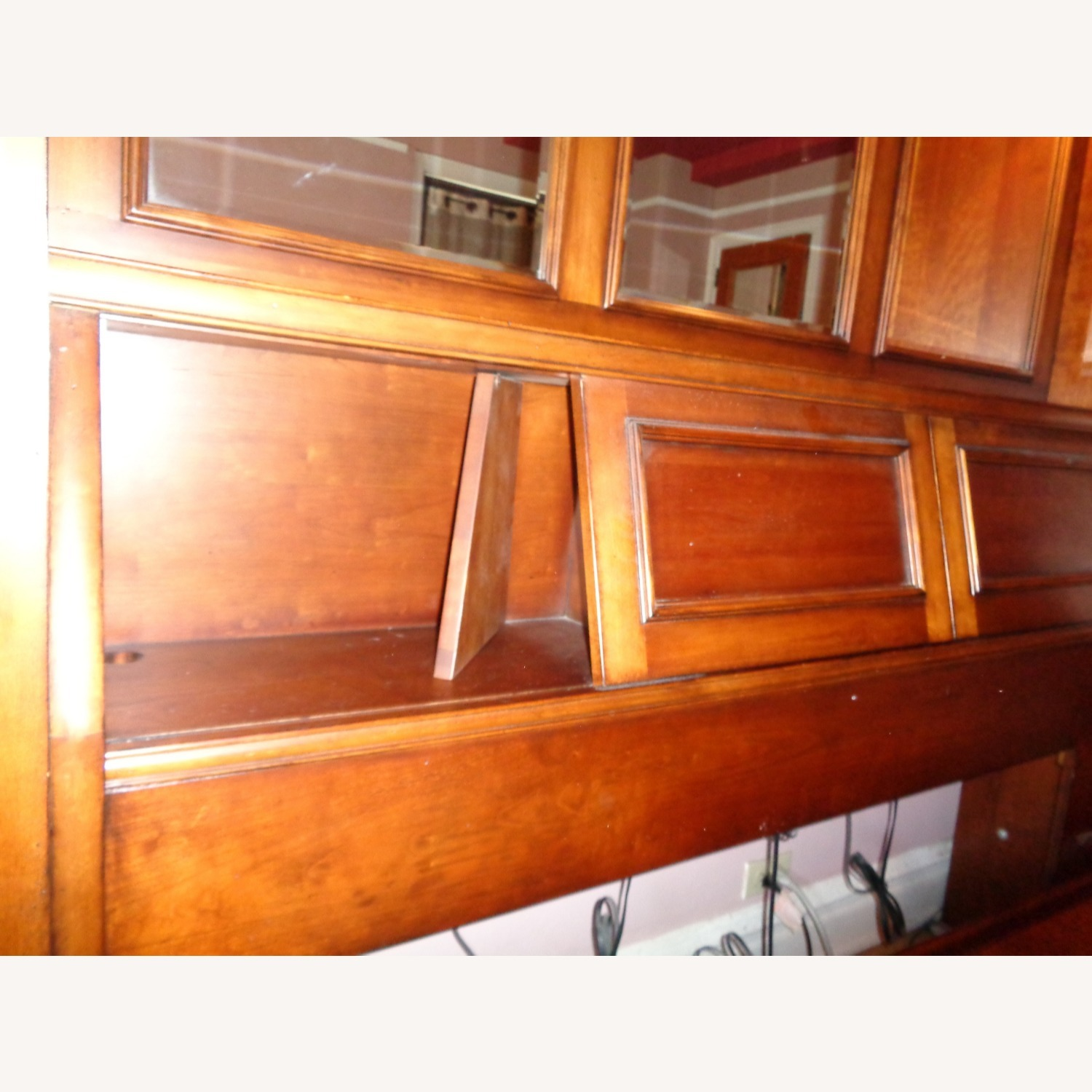 Storage Queen Bed w/ 2 Armoires - image-11