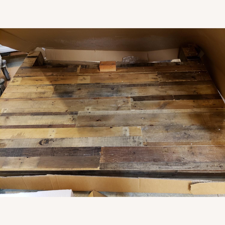 West Elm Emmerson Bed Heardboard/Footboard - image-3