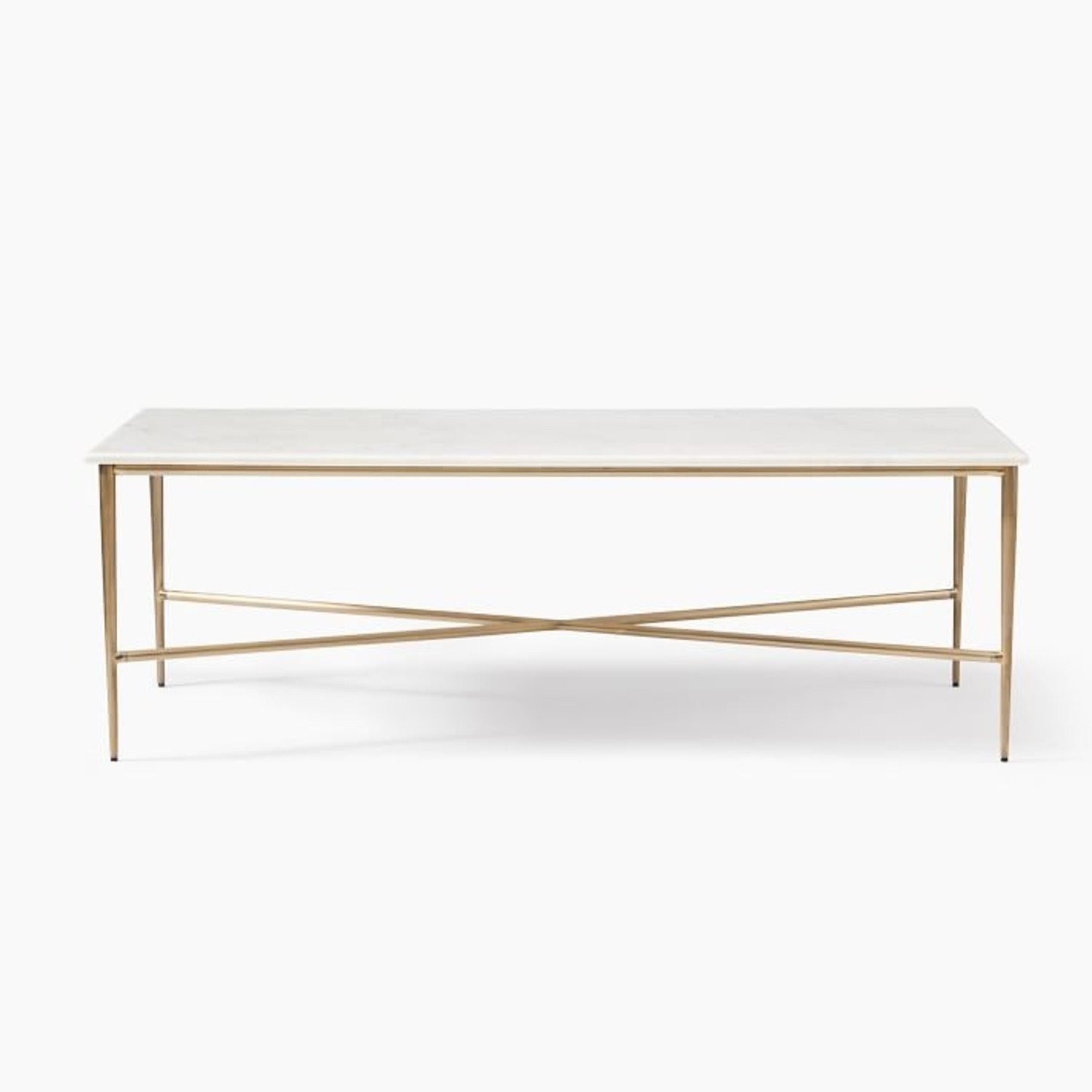 West Elm Neve Rectangle Coffee Table - image-2