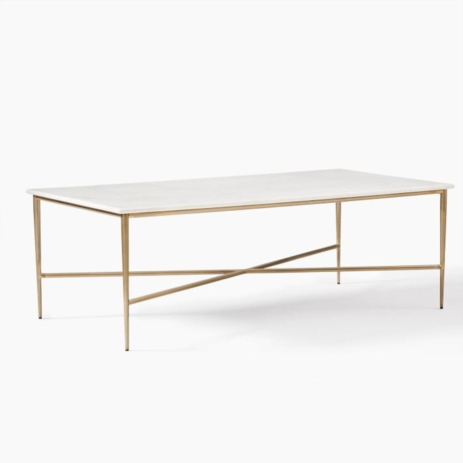 West Elm Neve Rectangle Coffee Table - image-1