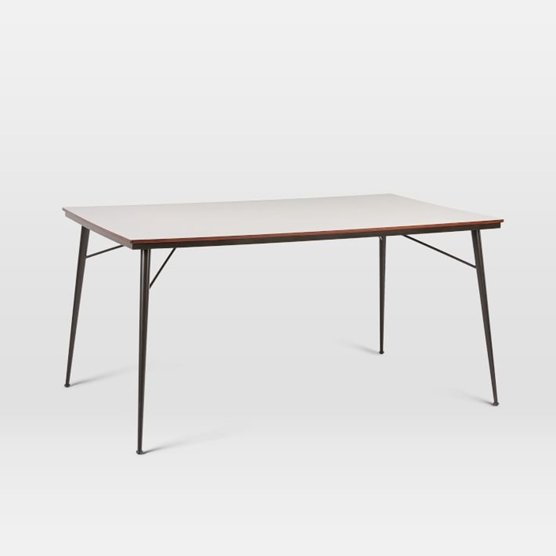 West Elm Paulson Dining Table - White Laminate - image-1