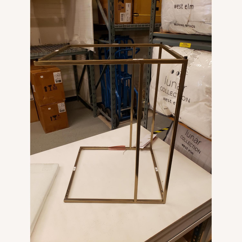West Elm Streamline C-Side Table - Glass - image-3