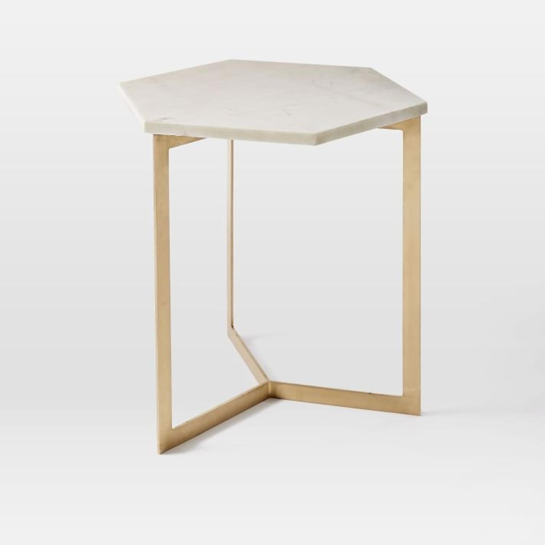 West Elm Hex Side Table - image-1