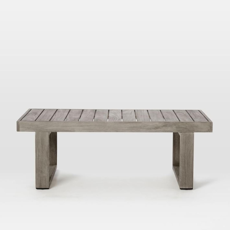 West Elm Portside Coffee Table - image-3