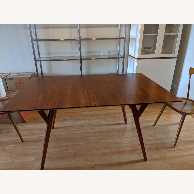 West Elm Mid Century Expandable Dining Table Aptdeco
