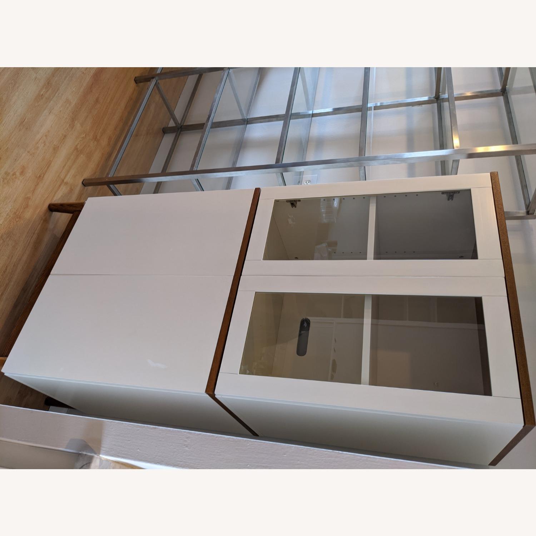 West Elm White Dining/Bar Cabinet - image-5