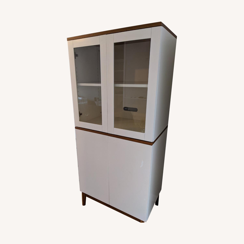 West Elm White Dining/Bar Cabinet - image-9