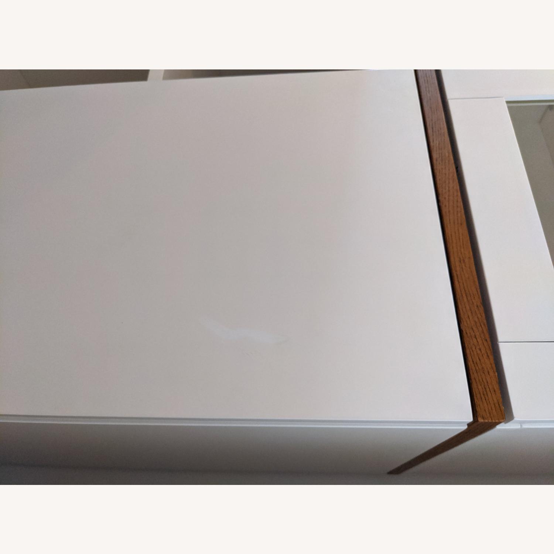 West Elm White Dining/Bar Cabinet - image-7