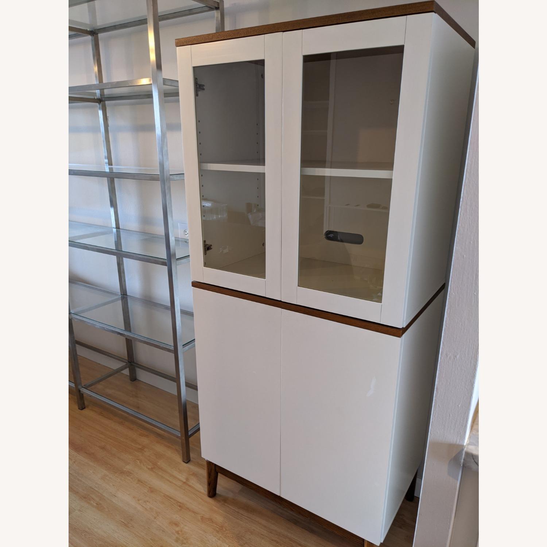 West Elm White Dining/Bar Cabinet - image-10