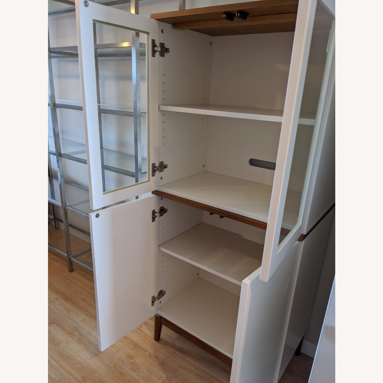 West Elm White Dining/Bar Cabinet - image-2