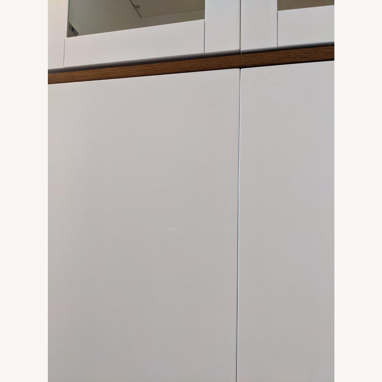 West Elm White Dining/Bar Cabinet - image-4