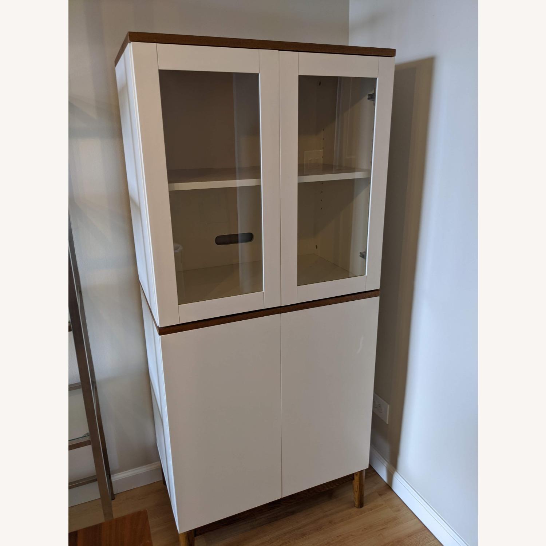 West Elm White Dining/Bar Cabinet - image-11