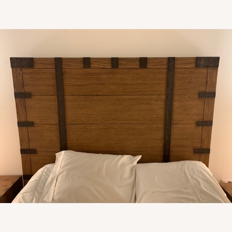Restoration Hardware Heirloom Queen Bed Frame - image-2