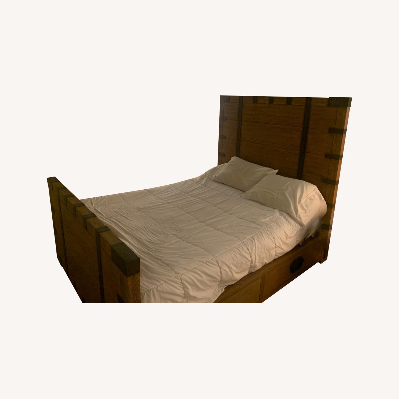 Restoration Hardware Heirloom Queen Bed Frame - image-4