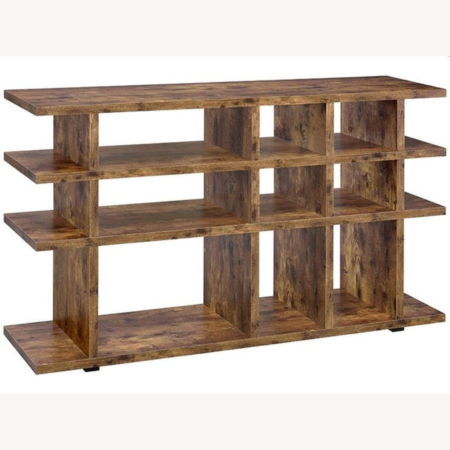 Contemporary Bookcase In Antique Nutmeg - image-0