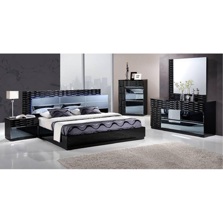 Coaster Fine Furniture Manhattan Platform Led Bed - image-5