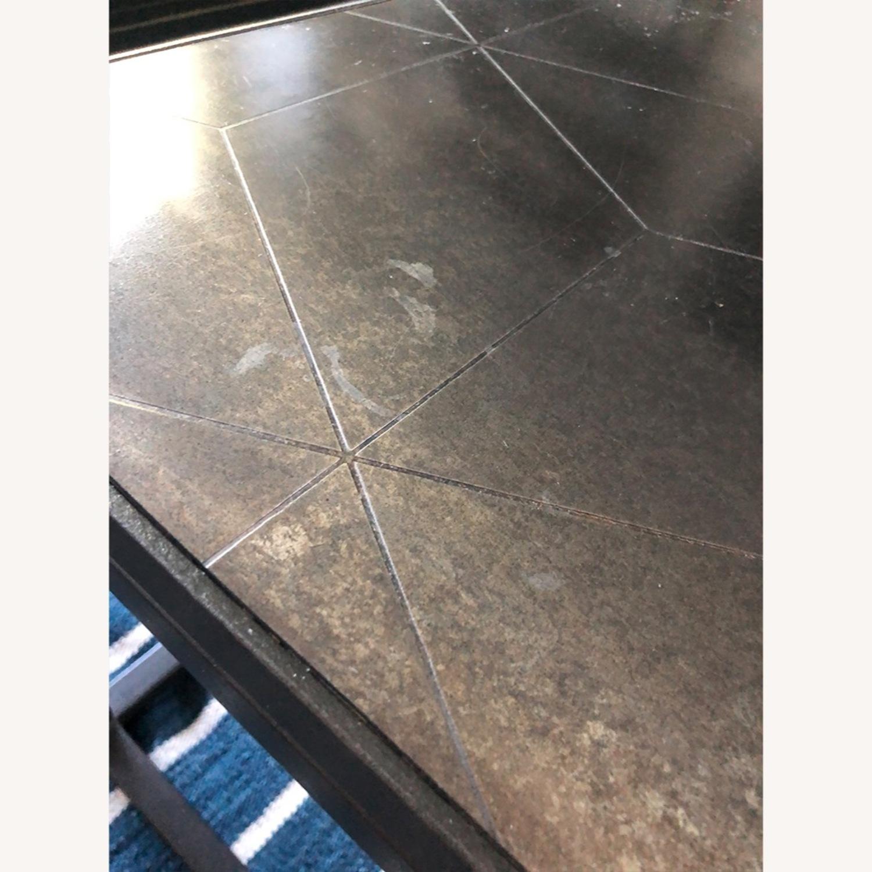 Restoration Hardware Metal Parqurt Coffee Table - image-4