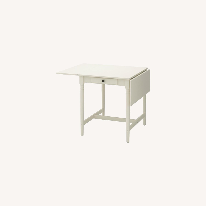IKEA Ingatorp Drop-Leaf Table - image-0