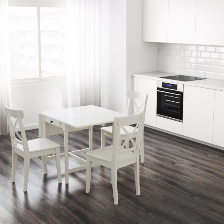IKEA Ingatorp Drop-Leaf Table - image-2