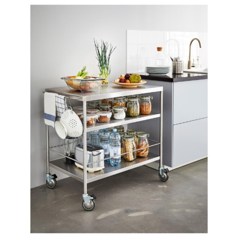 IKEA FLYTTA Kitchen Cart - image-2