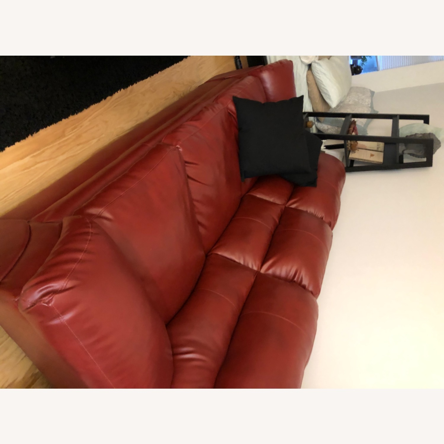 Claudio Rayes Red Couch - image-2