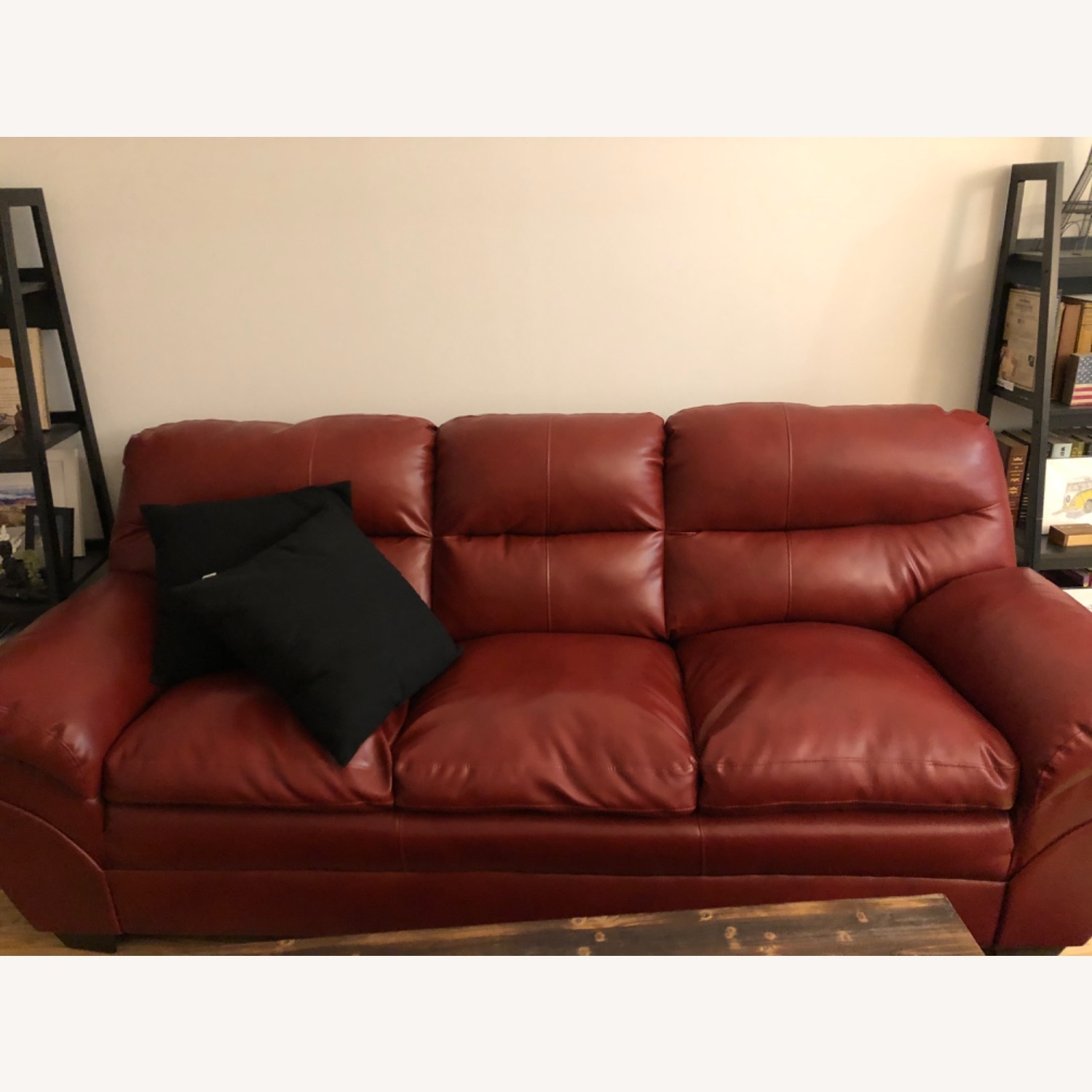 Claudio Rayes Red Couch - image-1