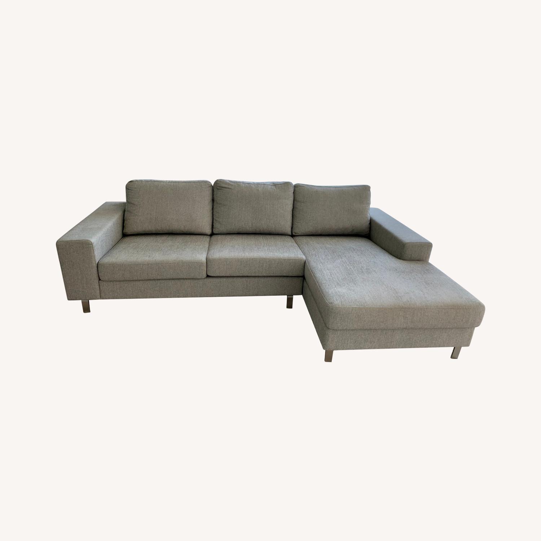 BoConcept Modern Designer Sofa - image-0
