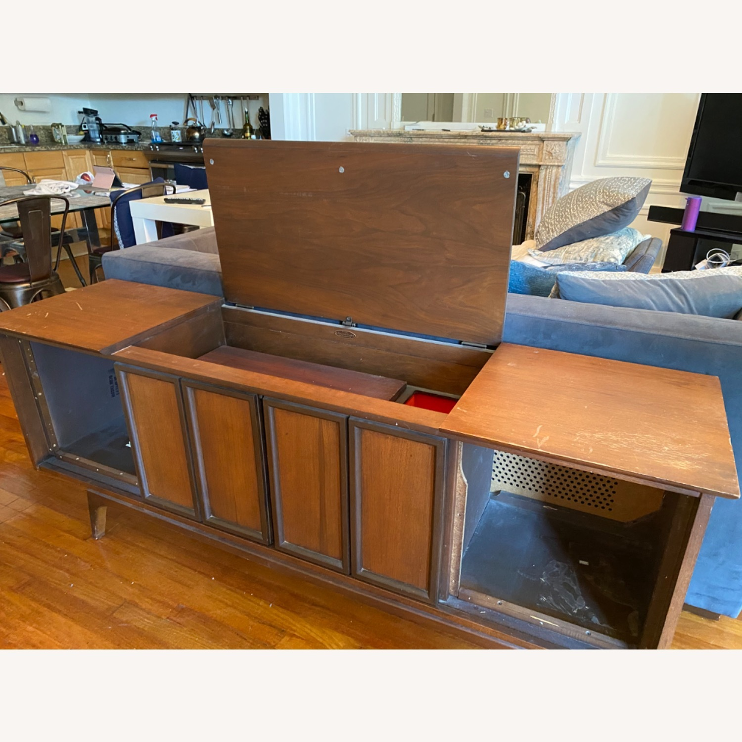 Sears Silvertone Phonograph and Stereo Cabinet - image-3