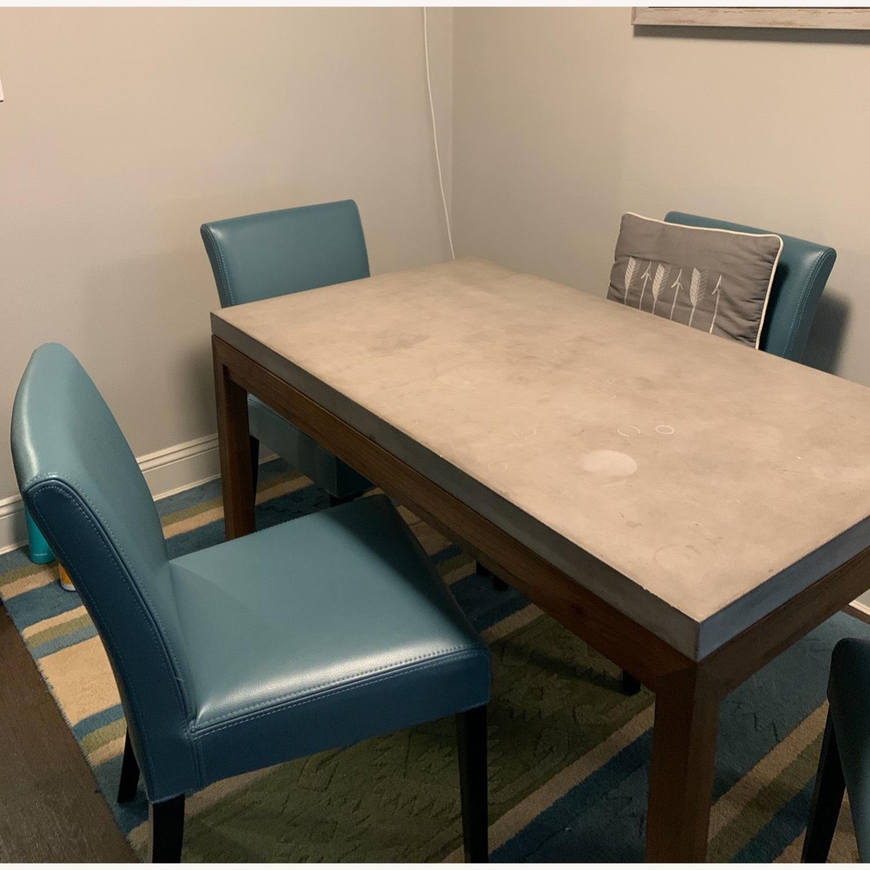 Crate & Barrel Parsons Dining Set - image-2
