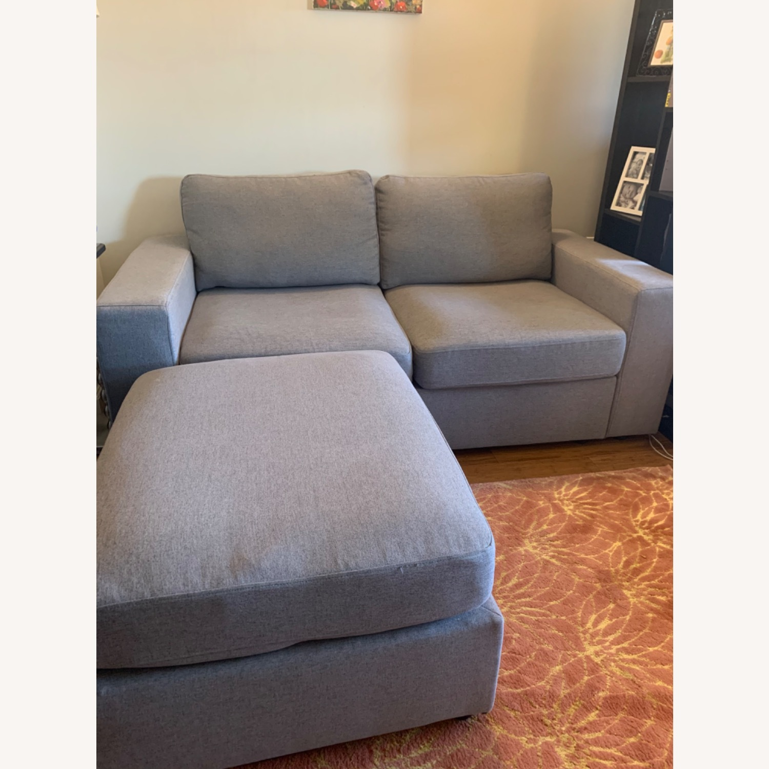 Wayfair Gosnell Reversible Loveseat & Ottoman - image-3