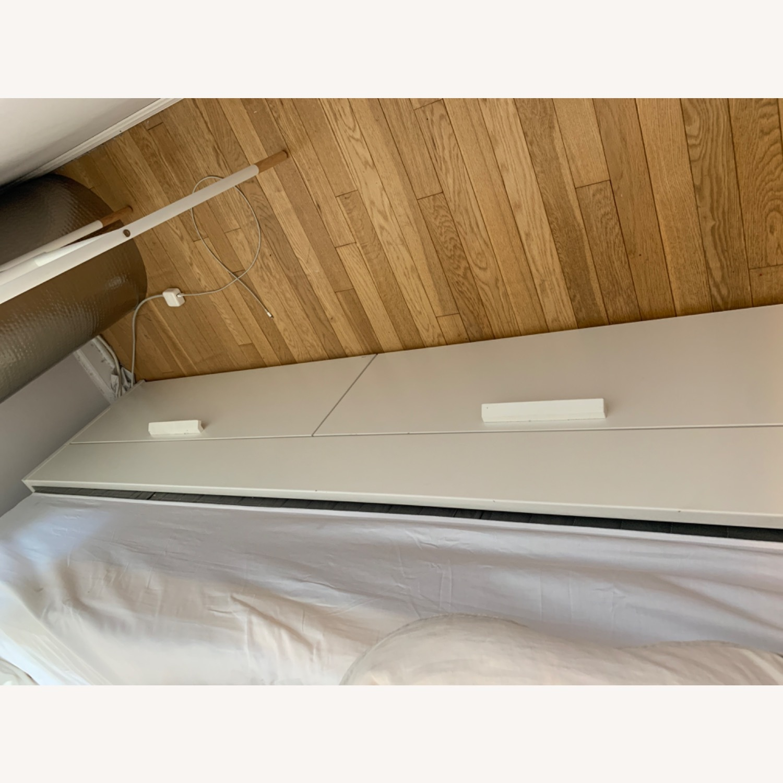 IKEA White Platform Bed ( w/ Storage drawers) - image-3