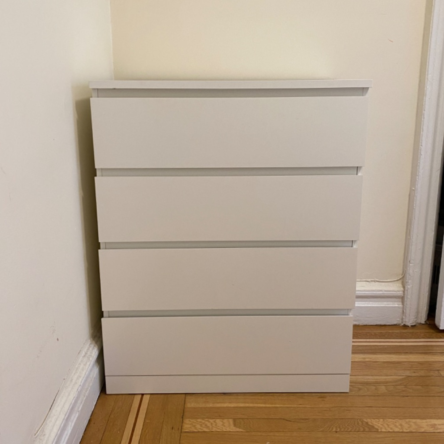 IKEA MALM 4-Drawer Chest - image-1